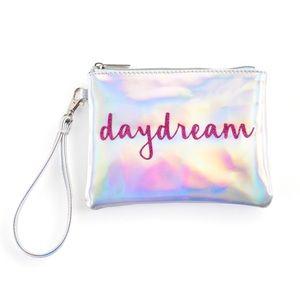 "Jade & Deer ""Daydream"" Holographic💿 Wristlet"